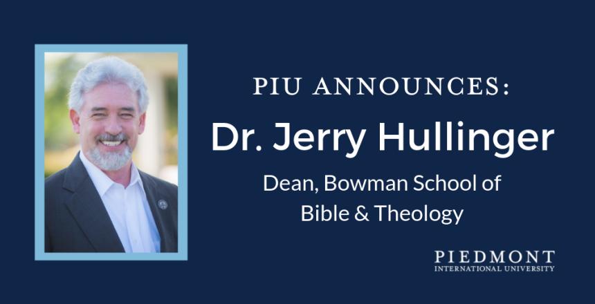 Dr. Jerry Hullinger (1)